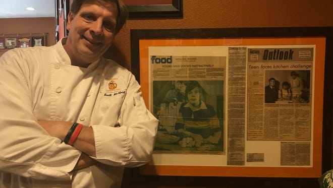 Scott Mattfeld has known he wanted to be a chef his whole life. At age 13, he was featured in a 1978 article in the Milwaukee Journal Sentinel.