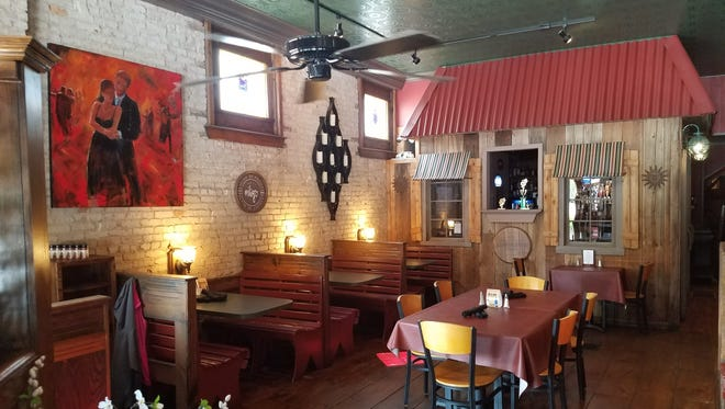 Iguana Roja Restaurante opened five years ago at 107 W. Church St. in Ozark.