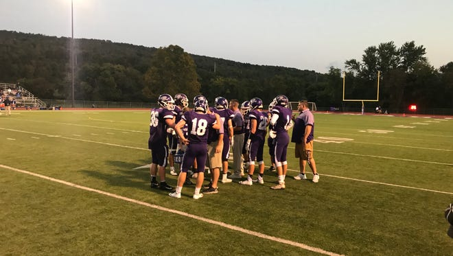 Norwich was a 13-12 winner Friday night over Maine-Endwell.
