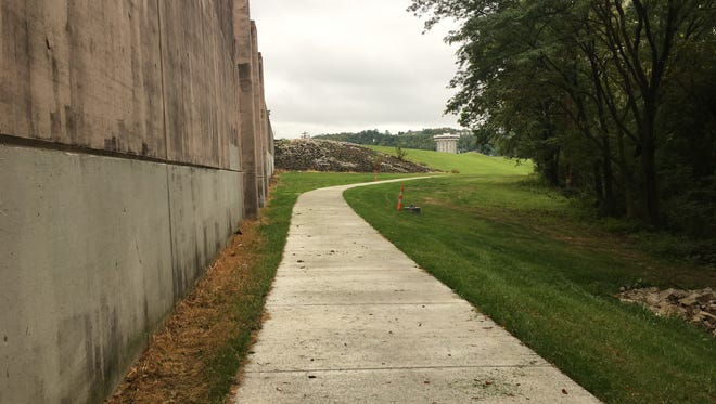There are a lot of hopes pinned on this innocuous trail along Covington's riverfront.  Covington just completed this portion of Riverfront Commons by the old Covington Landing spot.