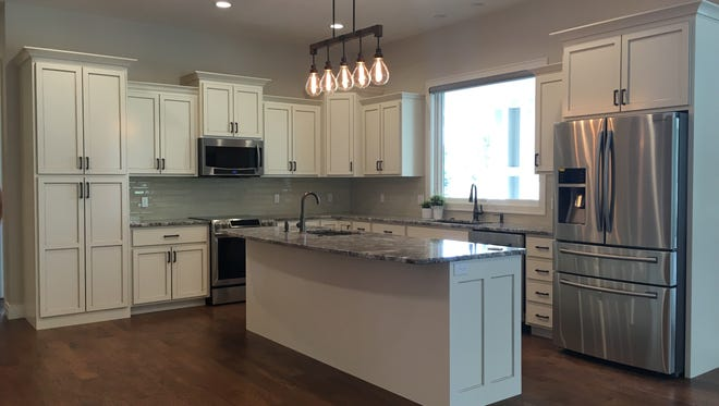 This home, located at 3008 S. Old Yankton Rd., build by Amdahl Construction, is a featured, award-winning home on the 2017 Fall Parade of Homes, sponsored by the Home Builders Association of the Sioux Empire.