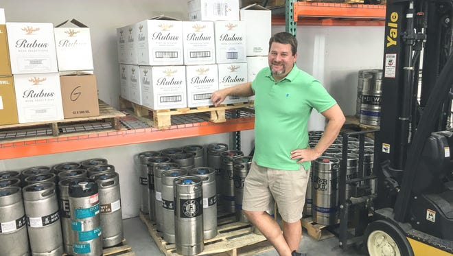 "Marc Steiman started Bottle and Brew Selections Distributor company to provide niche beers and wines that ""fell through the cracks."""