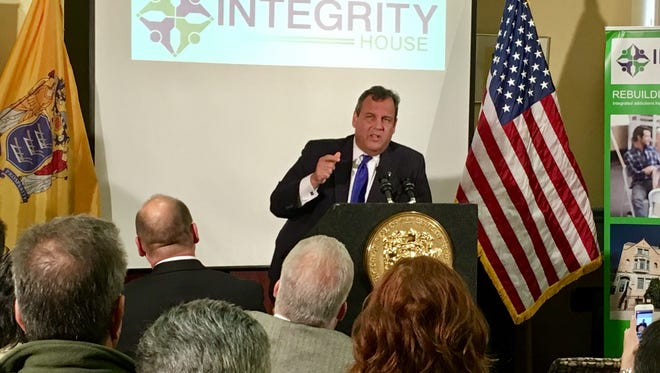 Gov. Chris Christie announced at a September news conference at Integrity House in Newark that he plans to spend $200 million on opioid treatment and prevention efforts.