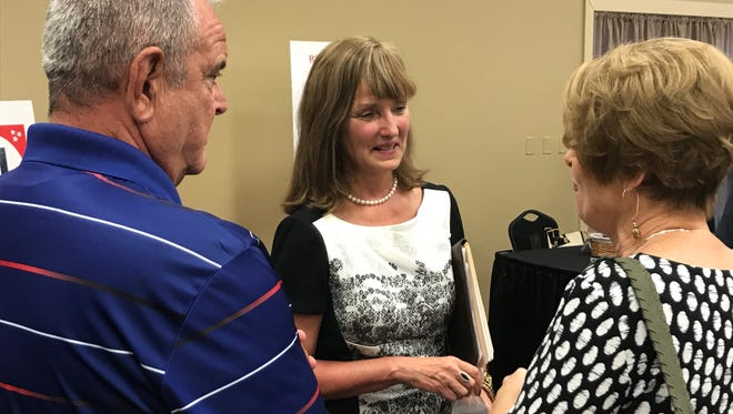 Republican governor candidate Beth Harwell at the Sept. 20 Knox County Republican Party candidate forum.