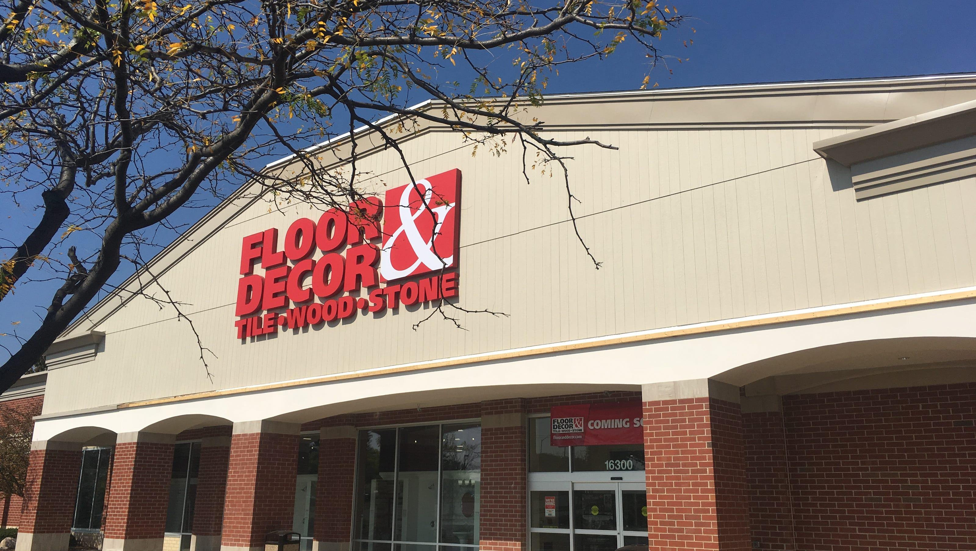 Wisconsin's first Floor & Decor store