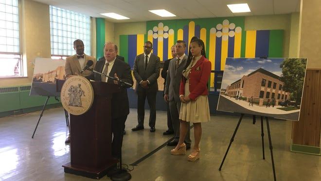 The $6.4 million dollar development is expected to break ground next year, Mayor Mike Duggan  said Thursday, Sept. 21, 2017.