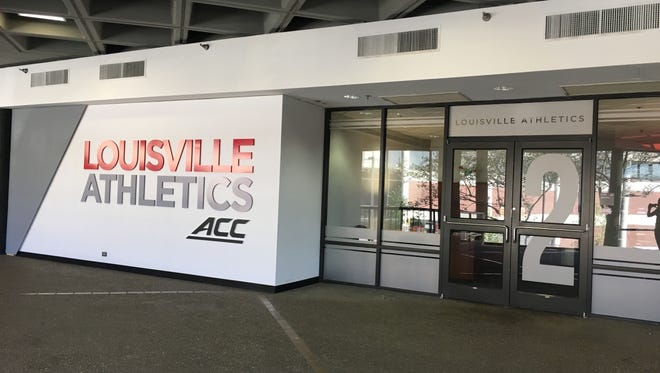University of Louisville athletics office