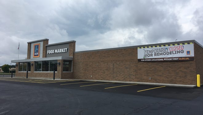 Aldi will reopen its expanded store at 5632 U.S. 10 East in Stevens Point on Oct. 4, 2017. The company is planing to remodel at total of five stores in the region by 2018.