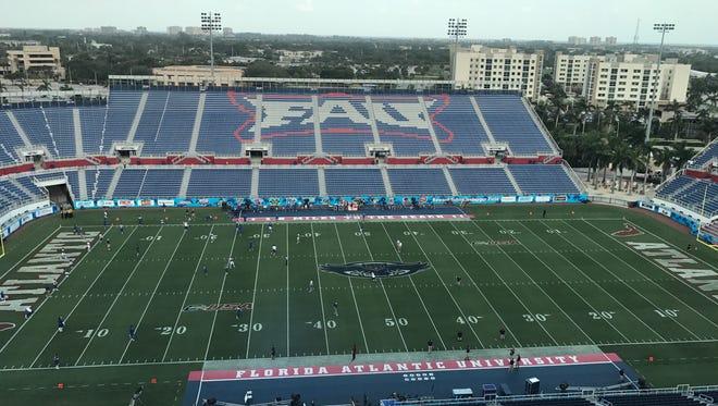 MTSU plays host FAU on Saturday in both teams' C-USA opener.