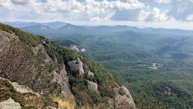 A downed plane was found south of Whiteside Mountain in Jackson County, North Carolina, on Friday.