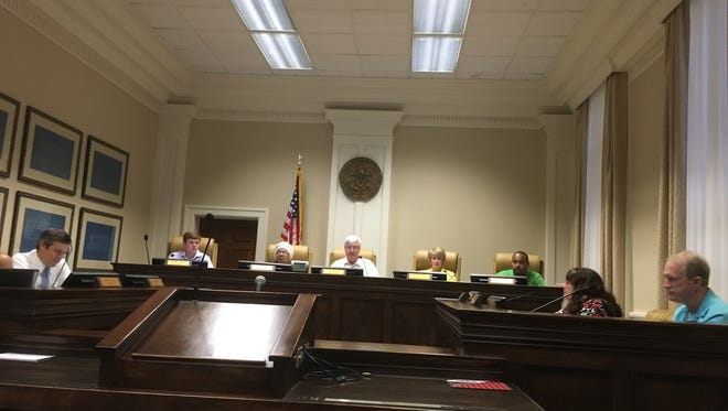 Hattiesburg City Council met early Friday morning to declare a state of emergency in advance of Tropical Storm Nate's northward move through the Gulf of Mexico.
