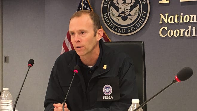 Brock Long, administrator for the Federal Emergency Management Agency, says federal officials are slowly making progress in Puerto Rico.