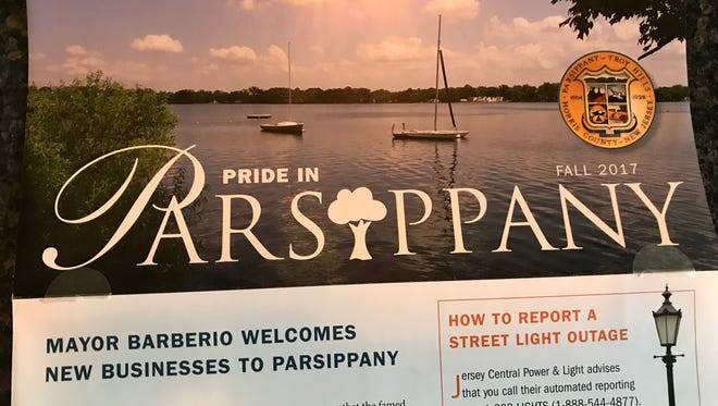 A Parsippany newsletter mailed last week to residents that opponents of Mayor James Barberio claim was effectively a campaign mailer for his re-election that was paid for by the taxpayers.