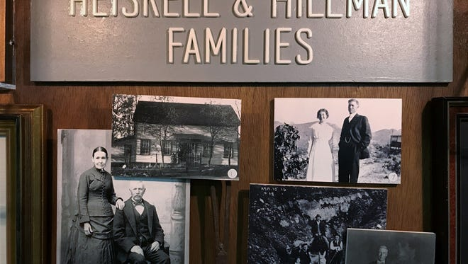 Pat Hillman, a longtime Tulare resident, is the great great granddaughter of Goerge Donner, captain of The Donner Party. The lower left picture is of her great-grandmother Leana Charity Donner and great-grandfather, John App.