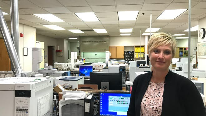 Sara Schreiber serves as the forensic technical director of the toxicology lab at the Milwaukee County medical examiner's office.