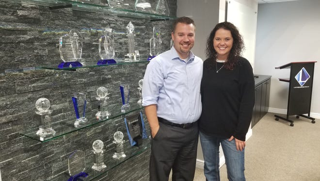 Michael and Sarah Leb have won numerous awards for excellence within the insurance business based on their passion for helping those they serve. Their insurance company, now located at 21 E. Second St., Fond du Lac, has grown from a tiny start-up in 2009, to an award-winning insurance company with more than 160 agents nationwide and a new satellite office in Neenah.