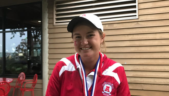Sarah Ernst has won two state championships in golf and three in lacrosse at Arrowhead.
