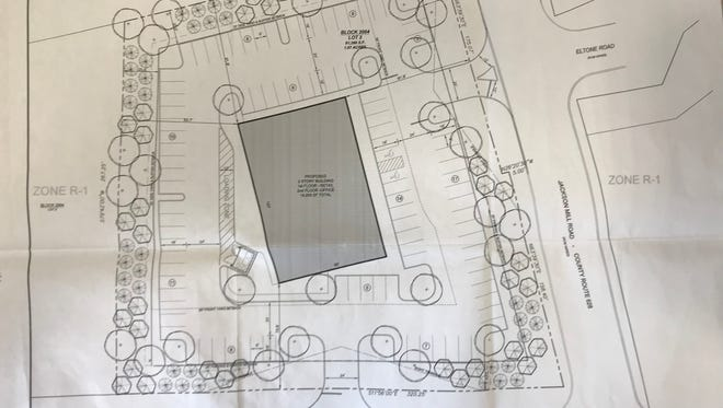 Plans for a medical office building on Harmony Road have been submitted by Morgan Harmony Development LLC.