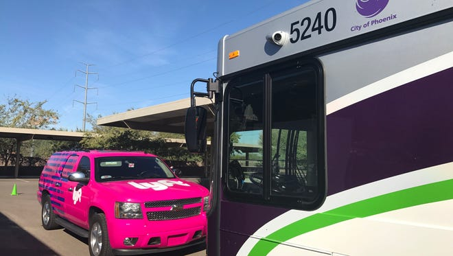 "A new program dubbed ""First Mile Last Mile"" will allow riders in some Phoenix areas to use Lyft at a reduced rate for rides between their homes and one of more than 500 city bus stops."