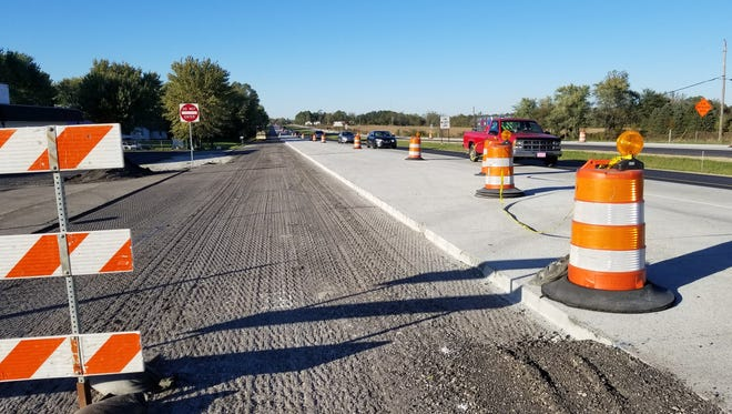 Reconstruction of a 5-mile stretch of Ind. 3 south of Muncie is nearing completion.