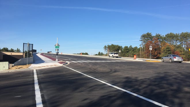 The City of Stevens Point has announced the grade separation project on Hoover Avenue and Country Club Drive is substantially complete, and is open to the public as of Oct. 19, 2017.