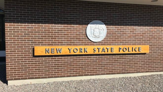 New York State Police Troop E headquarters in Farmington, Ontario County.