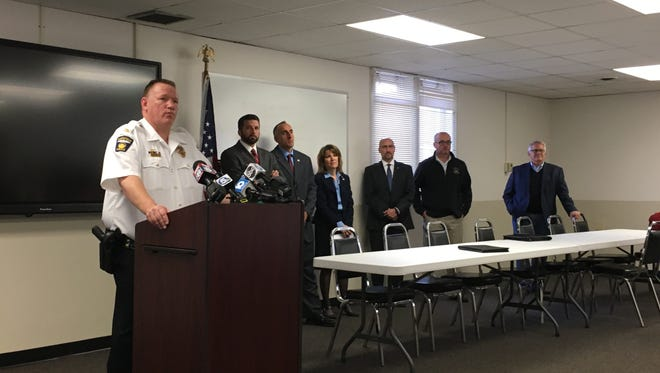 Mansfield police Chief Ken Coontz said Wednesday that the drug sweep provided law enforcement with names of who they are going after next.