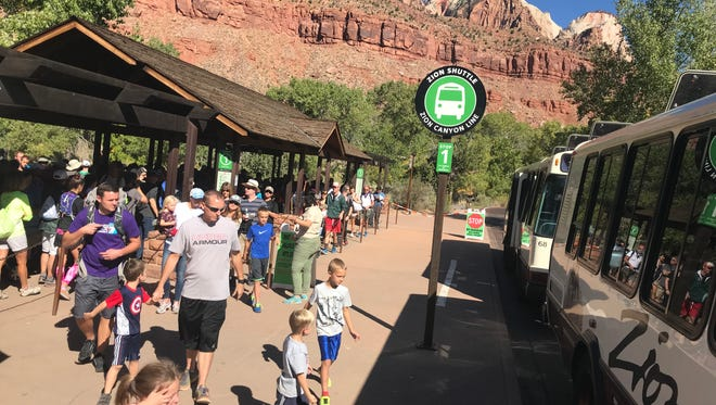 Zion National Park is temporarily suspending its shuttle operations due to health and safety concerns related to the COVID-19 coronavirus.