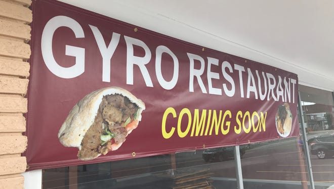 Though there's no set opening date yet, Gyro Café will open in Ashland City in a few weeks.