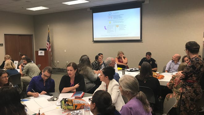 Stakeholders headed to the Redding Library on Thursday to brainstorm what prevents rural residents from achieving health equity.