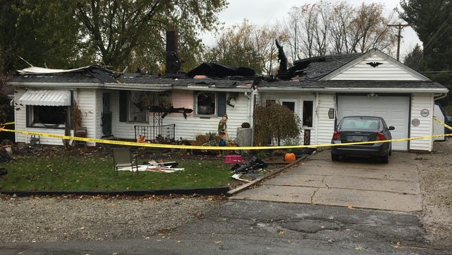 A woman was pronounced dead after a fire at an Abbott Drive residence Sunday, Oct. 29, 2017. The fire remains under investigation.