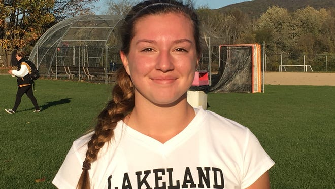 Lakeland's Alex Barna helped the Lancers win the Passaic County title.