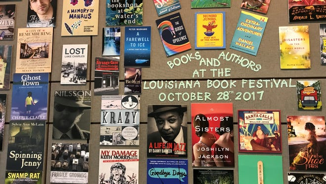 A ton of new titles were on offer at the Louisiana Book Festival.
