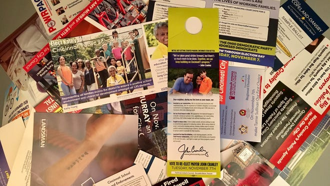 Has your mailbox been overtaken by an influx of election mailers? It's ok. There are crafty ways to upcycle this trash.