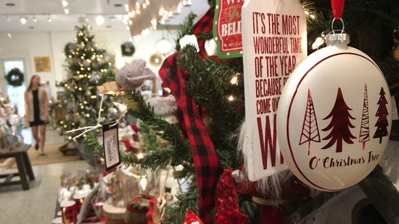 Christmas decor is on display Wednesday at Capitol's Rosemont Gardens in Montgomery.