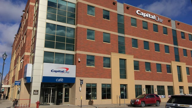 Capital One in downtown St. Cloud said it will be cutting positions from it's Tech engineering team.
