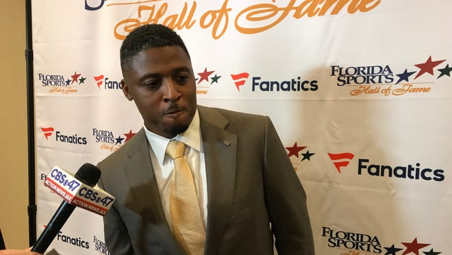 Former FSU star Warrick Dunn, inducted Wednesday in Florida Sports Hall of Fame, is shocked by FSU and Florida football woes.