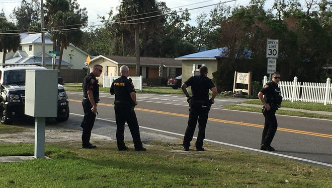 Melbourne police say a domestic disturbance call has resulted in a barricaded suspect inside a home on Pineapple Ave.