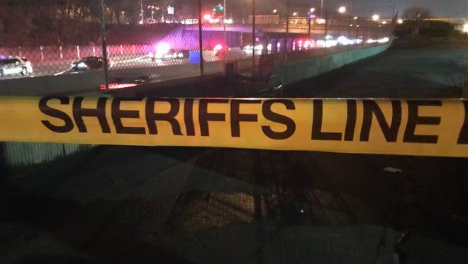 Authorities on scene of a fatality on I-490E late Tuesday.
