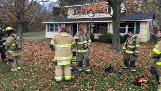 The Rutherford County Fire and Rescue Department responded to a residential fire in Murfreesboro within two minutes and quickly extinguished the fire.