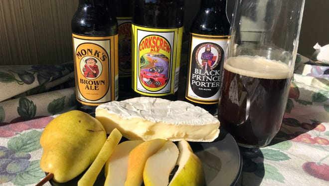 Three selections from Marina's English Ales Brewery pair well with the traditional Thanksgiving meal