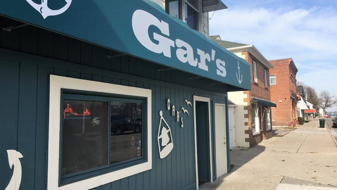 Gar's Restaurant & Lounge sits along South Water Street in Marine City, Michigan on Nov. 20, 2017. The pub has scheduled a fundraiser with proceeds going to the St. Clair County Child Abuse/Neglect Council, The Old Newsboys of Marine City and Local Families in Need.