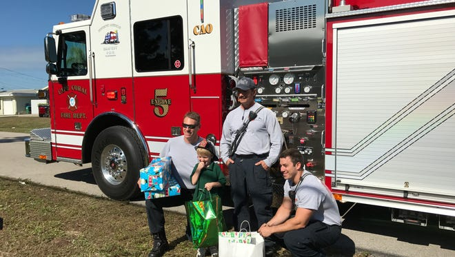 The Cape Coral Fire Department is holding a toy drive for the holiday season.