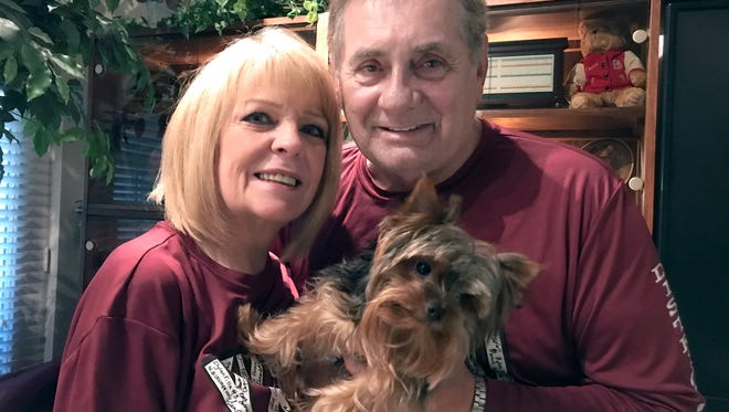 Anita and Phil Danaher are profoundly thankful for a tumultuous year, despite suffering through a life-threatening accident that brought unexpected blessings.