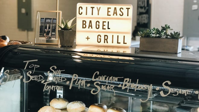 City East Bagel & Grill is one of the restaurants at South Main Market.