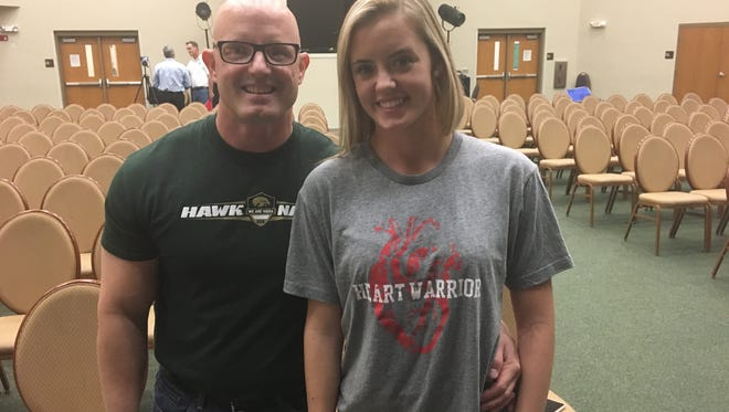 Shawn Sima and his daughter, Lexi, are advocates for mandatory CPR training for Florida High School students. Lexi survived a sudden cardiac arrest as a 16-year-old because she received immediate CPR.