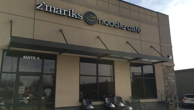 Z'Mariks Noodle Cafe at 2300 S. Minnesota Ave. in Sioux Falls.