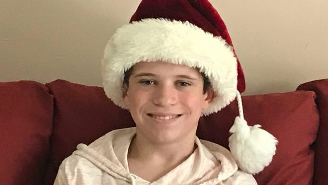 Jamie Ashbourne, 12, has a heart for helping make Christmas bright for children in need.
