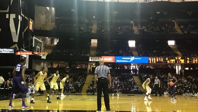 Vanderbilt takes on Kansas State at Memorial Gym on Sunday.