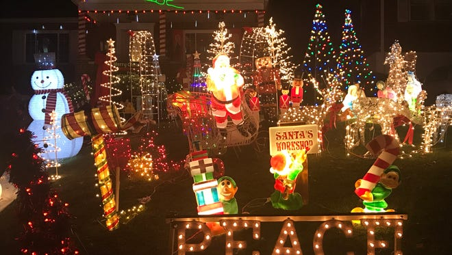 Do you see this Christmas display? It is a part of our collective Christmas excellence.